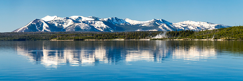 黄石湖,黄石公园,自然美,云景,云,怀俄明,户外,白色,自然,平流层