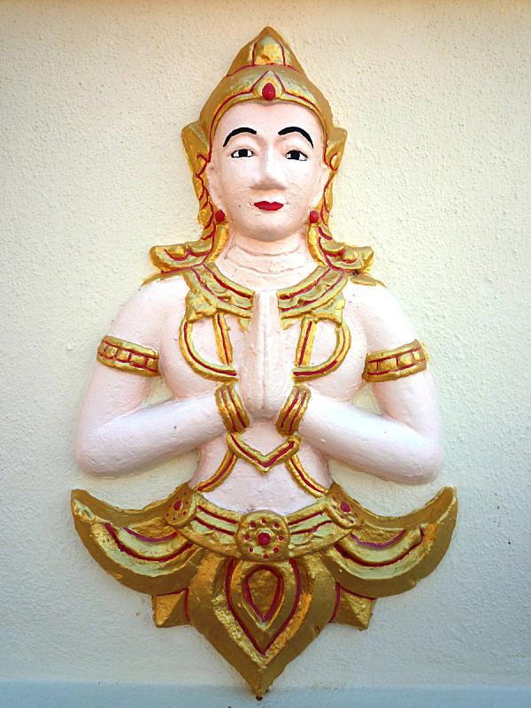 墙,佛,槟榔屿州,佛教,华丽的,垂直画幅,欲望,泰国,图像,2015年