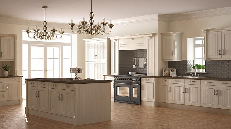 木制,厨房,简单,室内设计师,斯堪的纳维亚人,极简构图,大特写,普通住宅区,柜子,烤炉