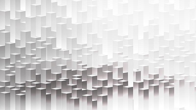 现代,三维图形,晴朗,城市,抽象,白昼,背景分离,技术,简单,模板