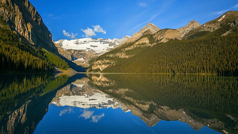 露易斯湖,自然,水,水平画幅,地形,雪,冰河,阿尔伯塔省,无人,蓝色
