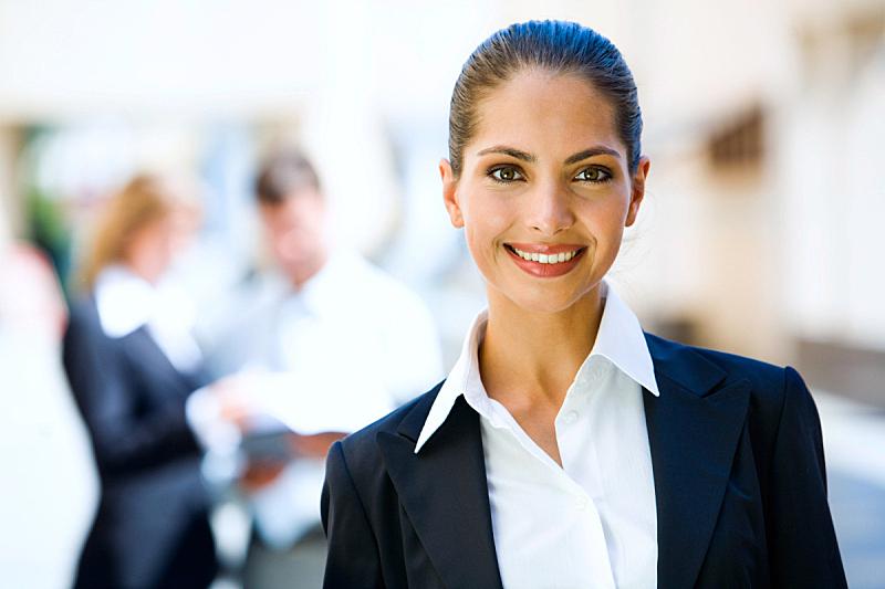 女人,正面视角,美,水平画幅,智慧,美人,秘书,白人
