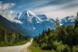 罗伯逊山,耶洛黑德公路,省立公园,加拿大,韦尔芒特,罗布森山省立公园,主干路,阿尔伯塔省,贾斯珀国家公园,国家公园