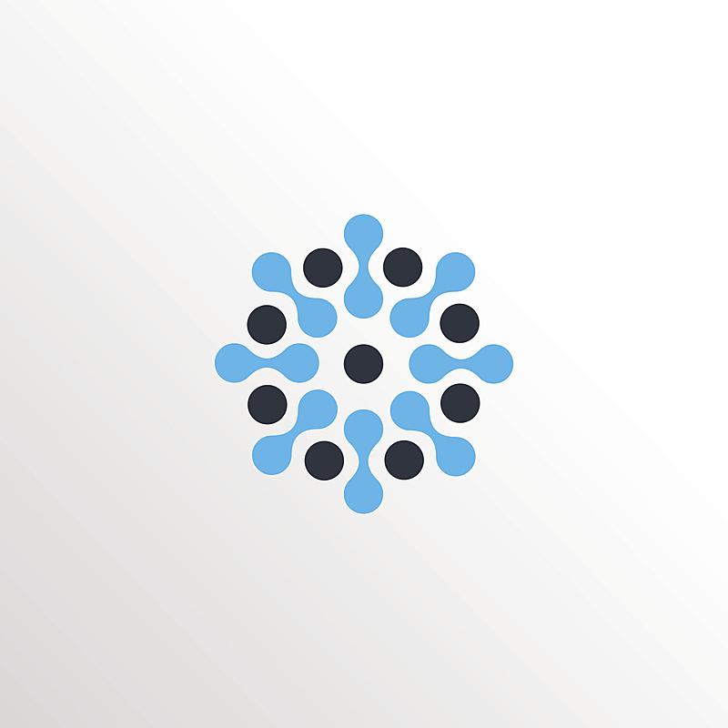 分子结构,太阳,神经元,计算机图标,极简构图,背景聚焦,形状,无人,绘画插图,符号