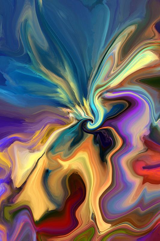 抽象,涂料,背景,液体,笔触,纹理,艺术,无人,行动