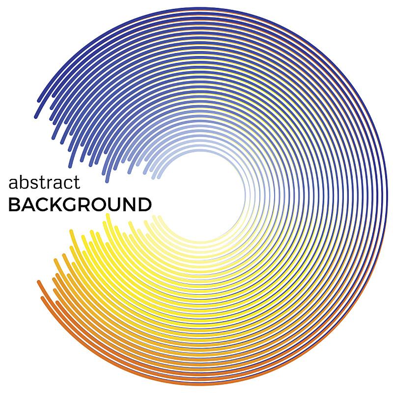 背景,圆形,成一排,多色的,明亮,黄色,抽象,蓝色,循环元素,迷宫游戏