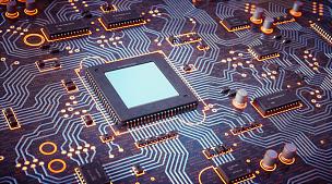 电路板,复杂性,橙色,顺化,半导体,中央处理器,电脑芯片,电子行业,母板,电容器