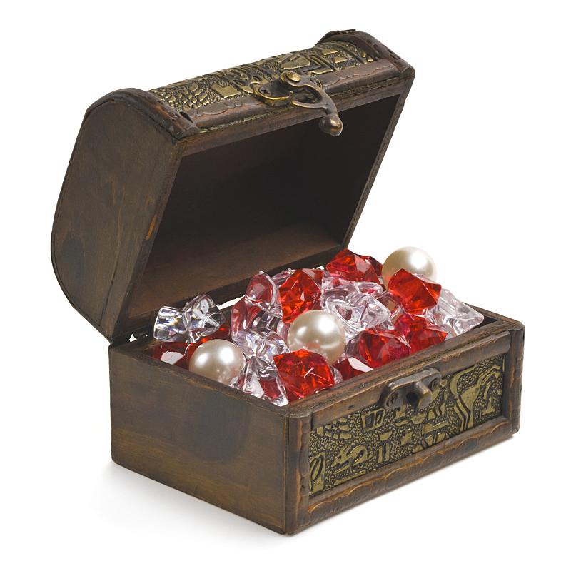 珠宝,开着的,白色,百宝箱,分离着色,衣柜,宝石,无人,金属,安全