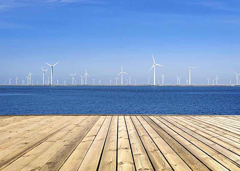 风力,干净,风力机,美国式的风车,风,能源,涡轮,电源,工业,技术