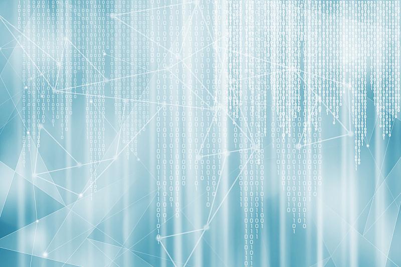 二进制码,背景,留白,未来,水平画幅,形状,银色,无人,科学,计算机软件
