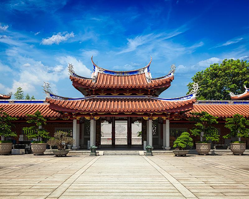 修道院,大门,掸邦,瓦,水平画幅,新加坡,建筑,无人,瓷砖,建筑外部