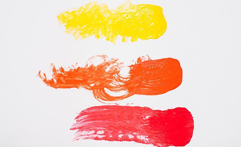 丙稀画,色彩鲜艳,摇滚乐,水平画幅,无人,橙色,橙子,白色,彩色图片,食用油