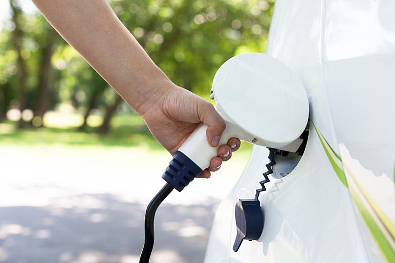 电车,动物出击,电缆,未来,电插头,水平画幅,能源,车用蓄电池,陆用车,混合动力汽车