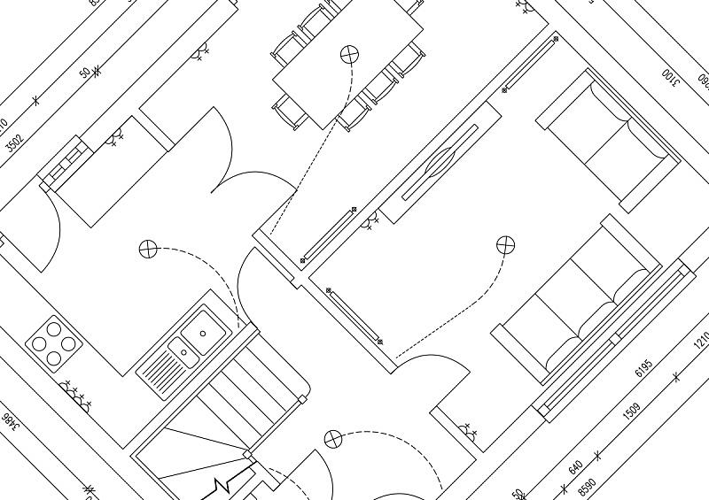 房屋,计划书,外立面,水平画幅,户外,做计划,创造力,建筑业,工业,白色