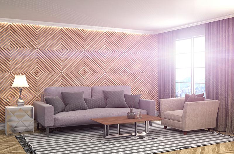 沙发,室内,三维图形,褐色,座位,水平画幅,无人,装饰物,家具,舒服