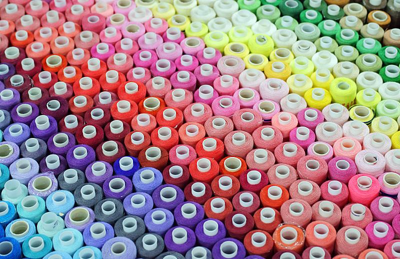 线轴,线,休闲活动,水平画幅,纺织品,无人,纤维,组物体,特写,棉