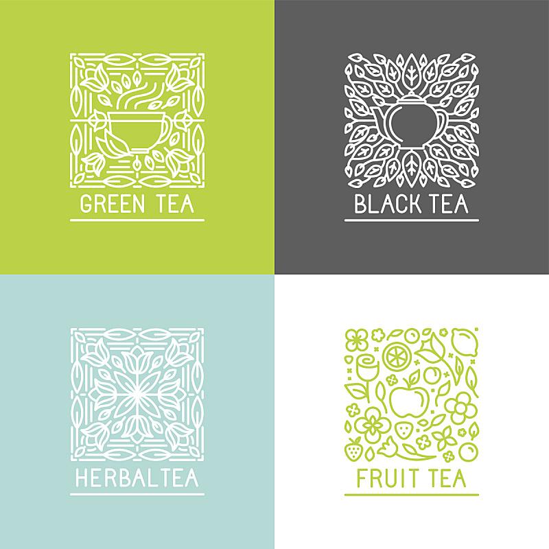 矢量,式样,品牌名称,绘画插图,标签,饮料,单色调,柠檬,想法,草莓