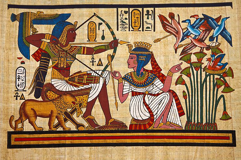 古董,泥墙画,古埃及文明,绘画插图,古代文明,灵性,艺术,水平画幅,纹理效果