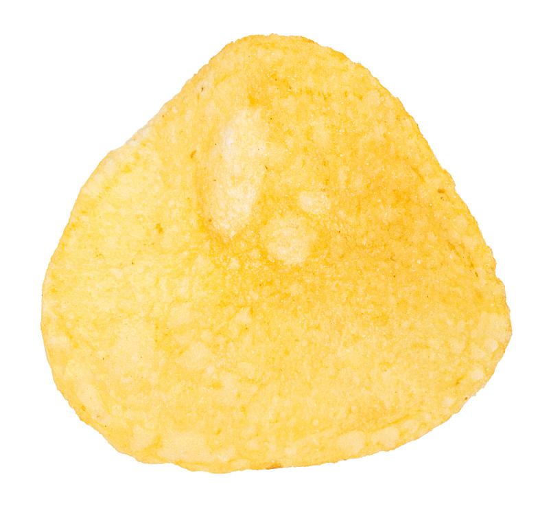 白色背景,薯片,分离着色,一个物体,清新,背景分离,香料,食品,堆,腌制食品