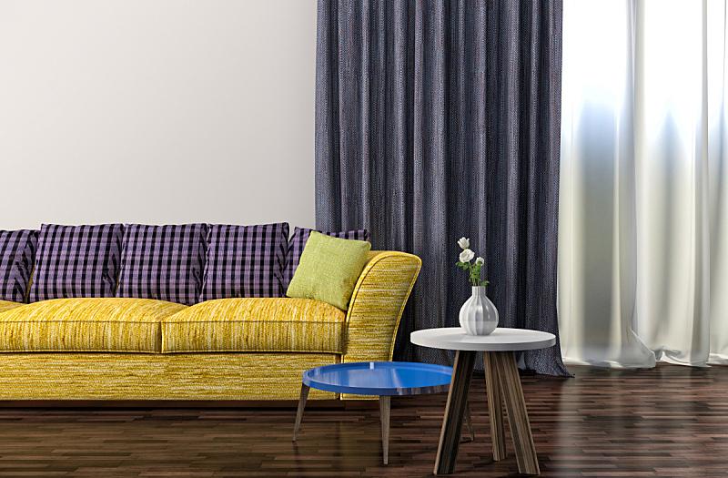 室内,沙发,绘画插图,三维图形,公寓,舒服,扶手椅,图像,家具,枕头