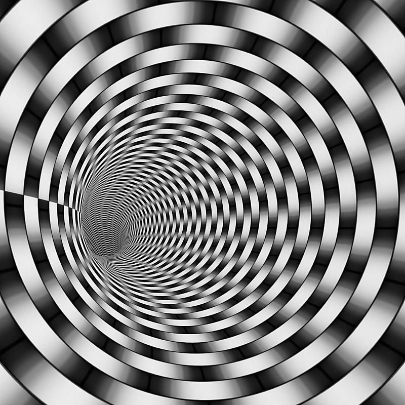 隧道,山,三维图形,瓦,黑白图片,未来,洞,形状,银色,装管