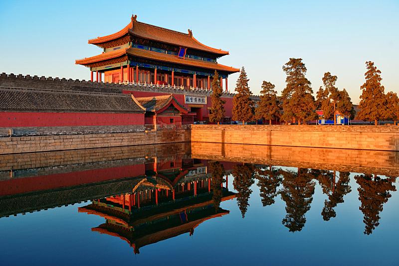颐和园,故宫,国际著名景点,亚洲,旅途,北京,全景,摩天大楼,图像,博物馆