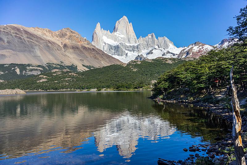 费兹罗山,巴塔哥尼亚,山,阿根廷,塞若·托瑞山,埃尔卡拉法特,查敦,冰隙,南美,美