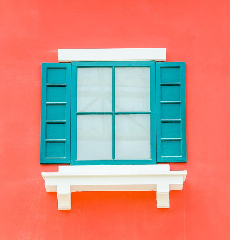 窗户,垂直画幅,式样,建筑,木制,无人,蓝色,抽象,华丽的,希腊