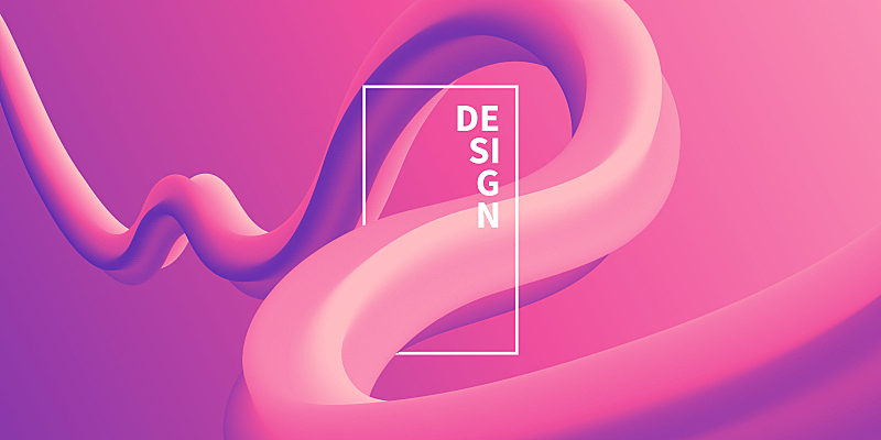 粉色,液体,抽象,渐变背景,薰衣草色,活力,彩色背景,设计,弯曲,流动