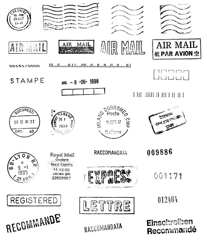 邮件,全球通讯,航空邮件,橡皮章,垂直画幅,无人,文字,背景分离,信函