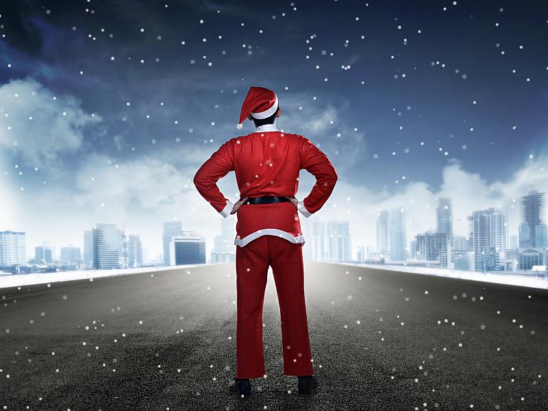 街道,男人,圣诞老人,古服装,衣服,留白,马来西亚人,在之后,男商人,男性