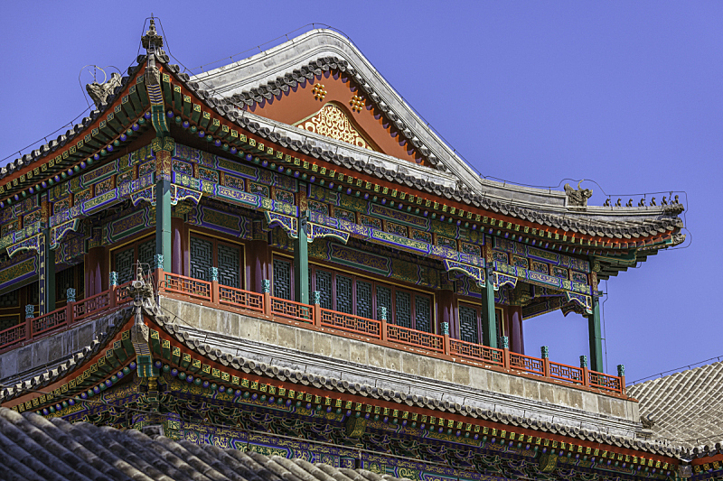 建筑,传统,屋檐,颐和园,宝塔,建筑外部,华丽的,北京,中国,寺庙