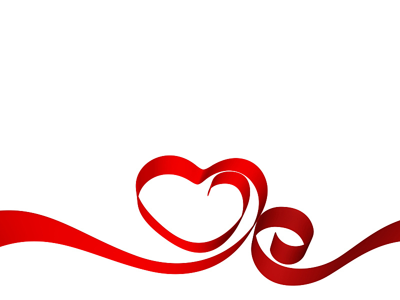 缎带,心型,水平画幅,纺织品,无人,抽象,浪漫,华丽的,红色,彩色图片