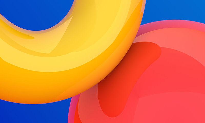 三维图形,抽象,极简构图,黄色,红色,几何形状,简单,图像,现代,美国