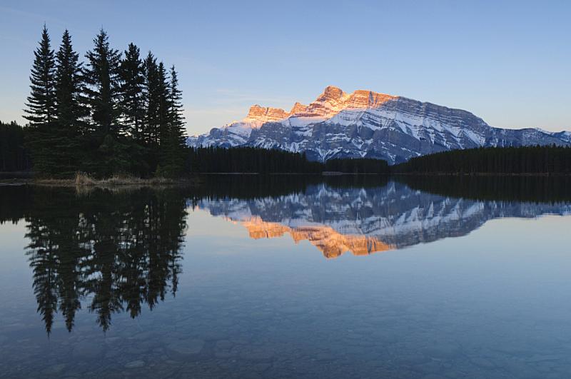 山,班夫国家公园,高山辉,自然,水,国家公园,水平画幅,地形,阿尔伯塔省,无人