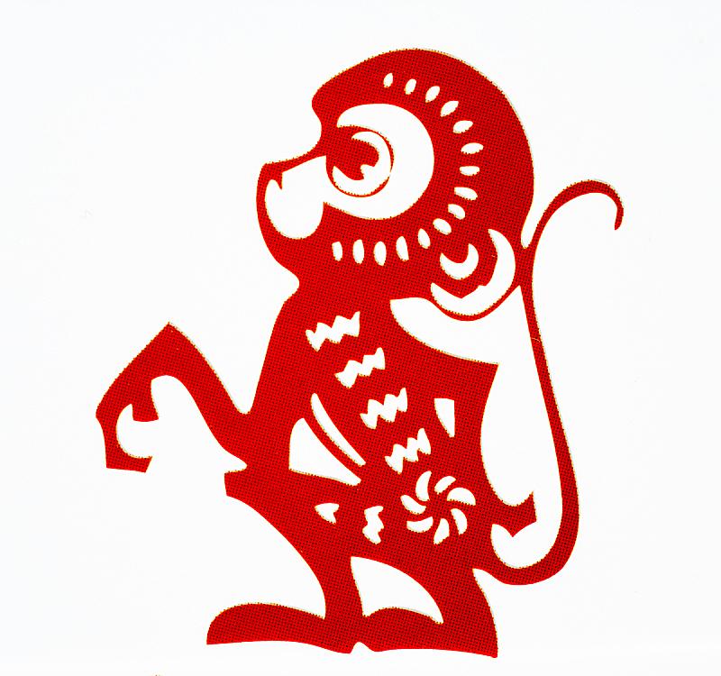 传统,春节,纸,标志,十二生肖,狗,猪,牛,动物,中国