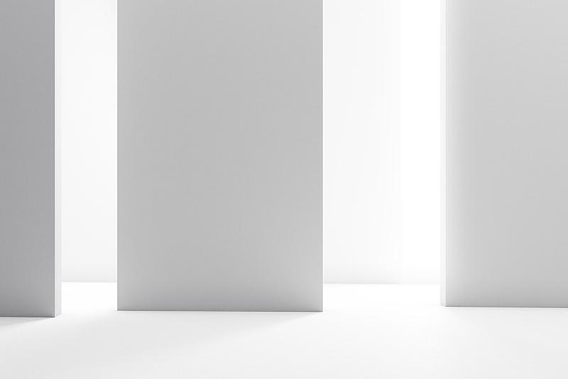 现代,室内,办公室,留白,新的,水平画幅,无人,绘画插图,天花板,走廊