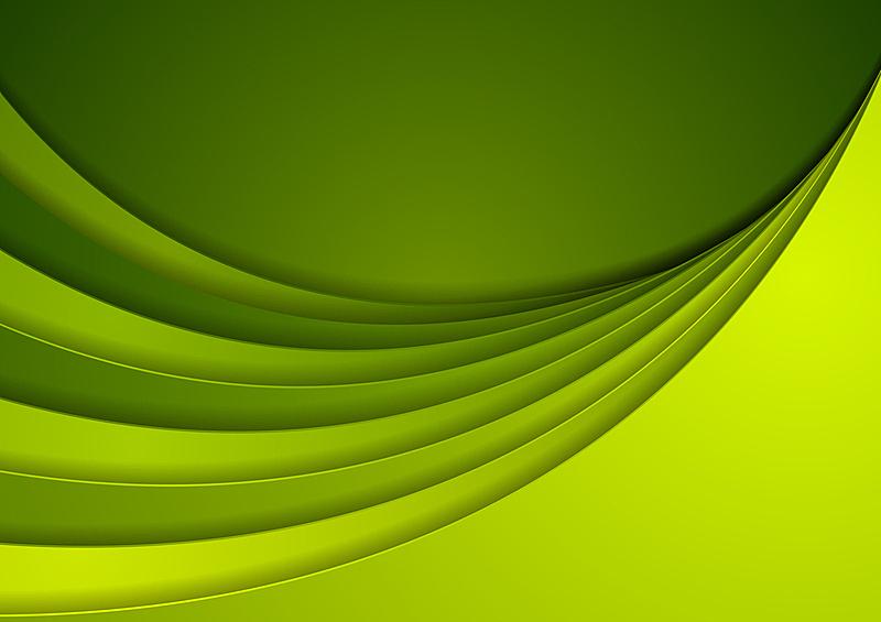 绿色,抽象,背景聚焦,商务,绘画插图,未来,计算机制图,计算机图形学,光,明亮