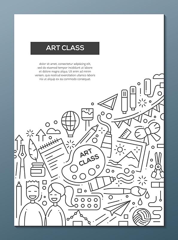 模板,海报,小册子,艺术课,麦克唐纳·道格拉斯f-4,线条,a-4天鹰式攻击机,传单,核对时间,演讲室