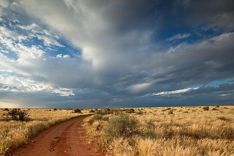 南非,非洲大草原,自然,天空,干草,水平画幅,地形,沙子,无人,萨凡纳港市