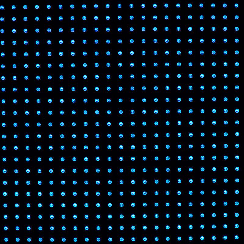 抽象,花鳞茎,圆形,式样,夜晚,无人,led灯,蓝色,斑点,方形画幅