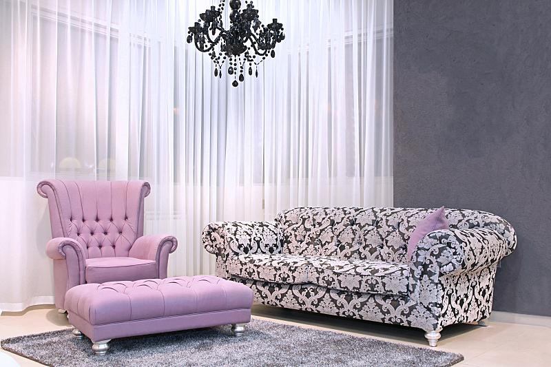 住宅房间,家具,华丽的,地毯,水平画幅,纺织品,无人,古典式,装饰物,皮革