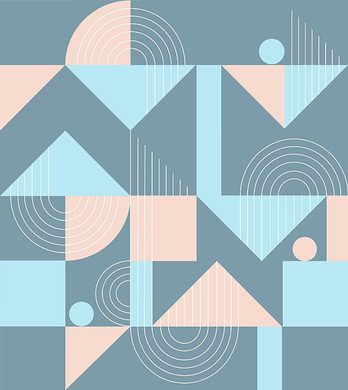 几何形状,式样,装饰品,明亮,形状,三角形,六边形,三维图形,星形,多色的