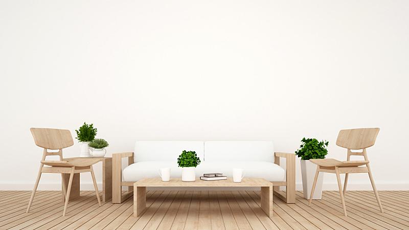 咖啡店,三维图形,起居室,小山羊,饭厅,茶几,围墙,沙发,住宅房间,白色