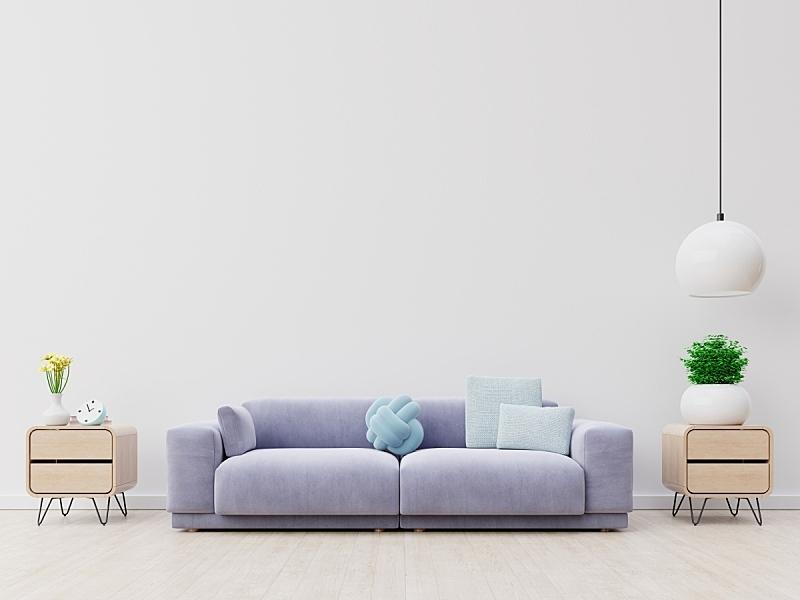 沙发,现代,起居室,室内,华贵,舒服,软垫,泰国,从容态度,装饰物