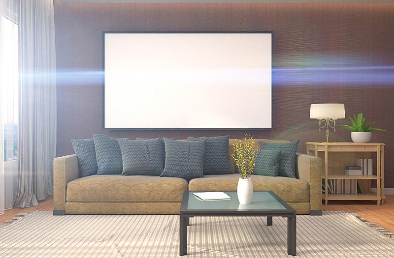 室内,正下方视角,绘画插图,边框,背景,轻蔑的,三维图形,投影屏幕,褐色