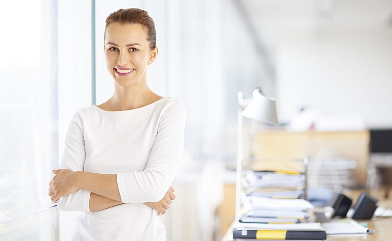 信心,女商人,肖像,留白,销售职位,家庭生活,仅成年人,现代,青年人,专业人员