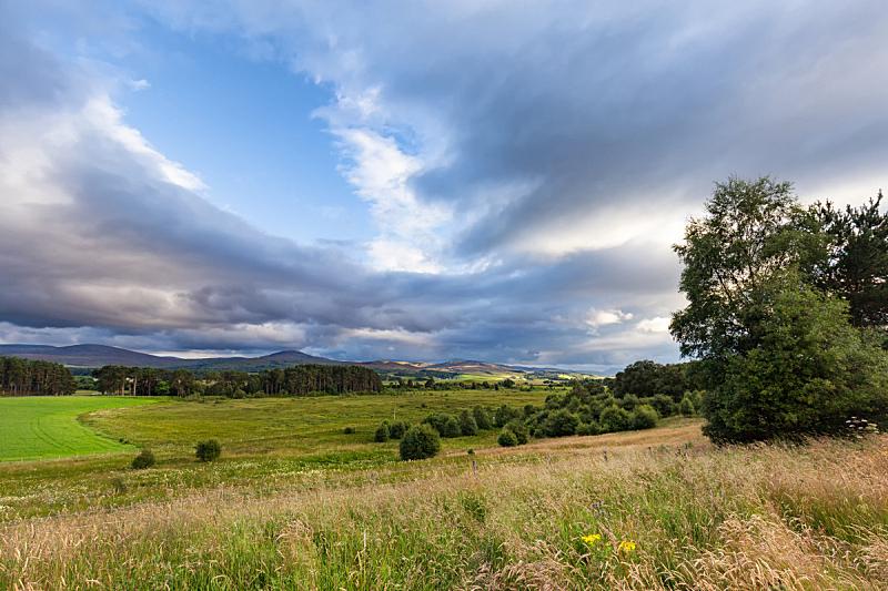 Fields near Inverness