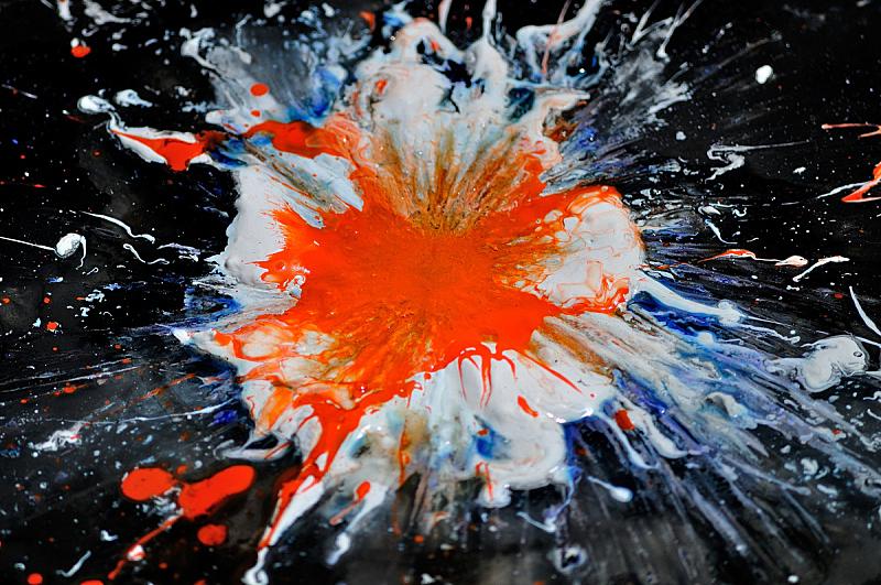 抽象,超新星,暴风雨,星系,艺术,水平画幅,无人,墨水,泰国,现代