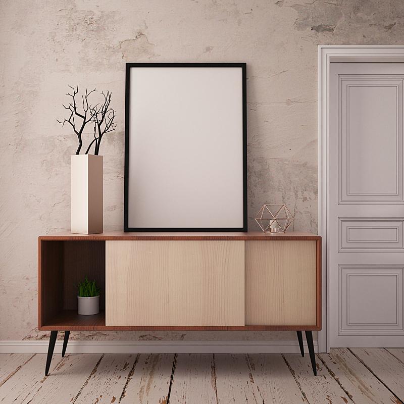 看台,花瓶,枝,绘画插图,正下方视角,轻蔑的,三维图形,商务,挪威